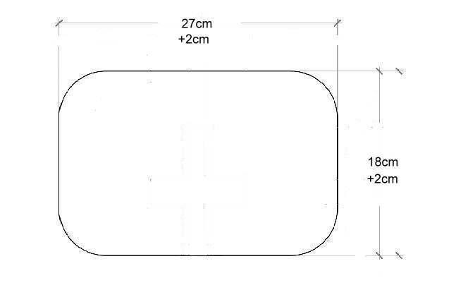 Meinen Zenhocker anpassen der Sitzfläche +2cmx2cm